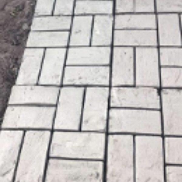 diy concrete garden path mold